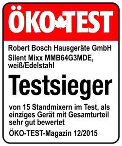Bosch Öko-Test Testsieger